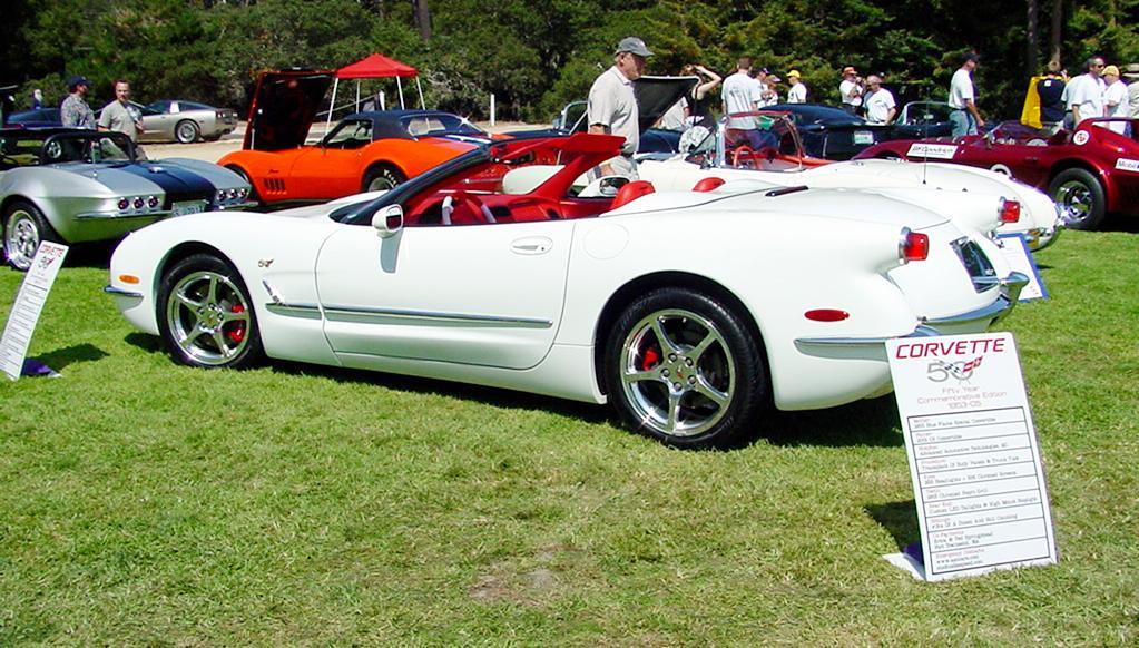 corvette 50th anniversary model