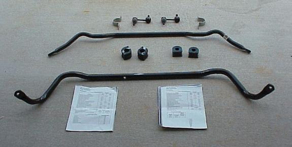 Installing the 2000 Z51 Anti-sway Bar Kit on C5s without them